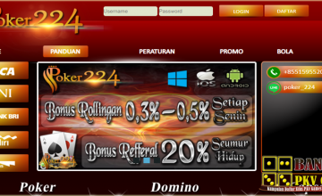 Poker224 | Poker Online | Server Pkv Games | Dominoqq Terpercaya
